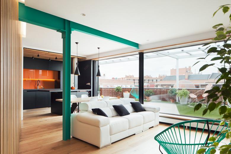 salon jardin moderne